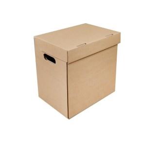 Archivačná krabica A3 420x325x310 mm, s vekom a bočnými otvormi