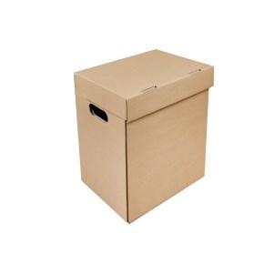 Archivačná krabica A4 300x210x310 mm, s vekom a bočnými otvormi
