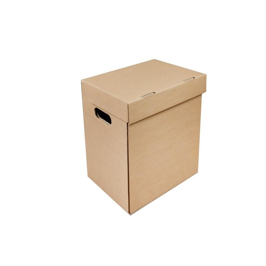 ed9c9cf9c Archivačná krabica A4 300x210x310 mm, s vekom a bočnými otvormi ...
