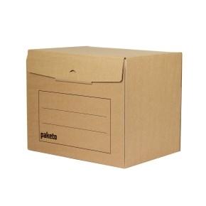 Archivačná krabica na 5 šanónov, 390x295x327, s potlačou