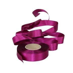 Atlasová stuha purpurová, šírka 24 mm, dĺžka 20 m