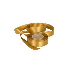 Atlasová stuha zlatá, šírka 24 mm, dĺžka 20 m