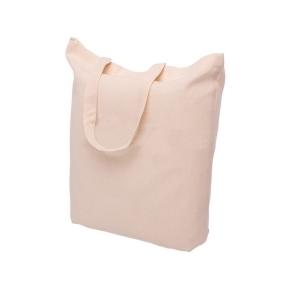 Bavlnená taška krémová