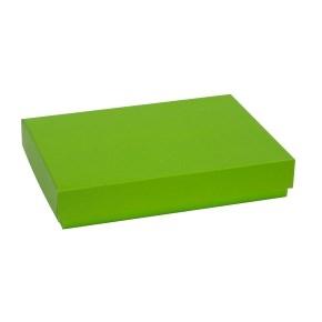 Darčeková krabica s vekom 300x200x50 mm, zelená