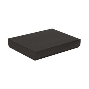Darčeková krabica s vekom 350x250x50 mm, čierna