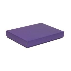 Darčeková krabica s vekom 350x250x50 mm, fialová