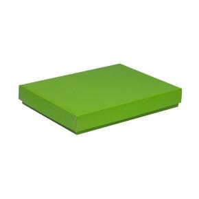 Darčeková krabica s vekom 350x250x50 mm, zelená