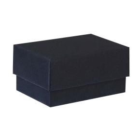Darčeková krabička dno a veko 60x40x30 mm, čierna