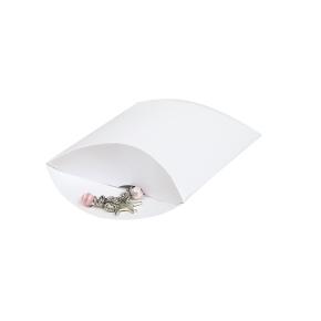 Darčeková krabička pukačka 100x120x40 mm, biela perleť