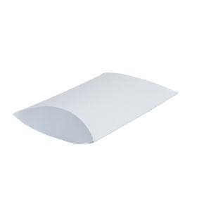 Darčeková krabička pukačka 140x130x40 mm, strieborná perleť