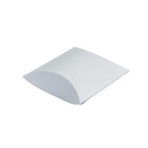 Darčeková krabička pukačka 50x90x30 mm, strieborná perleť