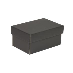 Darčeková krabička s vekom 200x125x100 mm, čierna