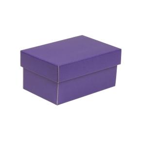 Darčeková krabička s vekom 200x125x100 mm, fialová