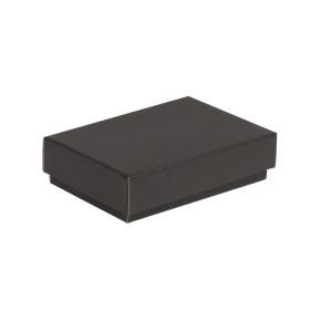 Darčeková krabička s vekom 200x125x50 mm, čierna