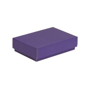 Darčeková krabička s vekom 200x125x50 mm, fialová
