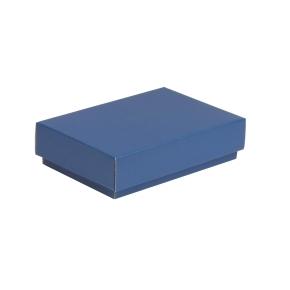Darčeková krabička s vekom 200x125x50 mm, modrá