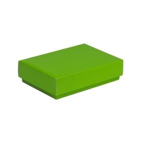 Darčeková krabička s vekom 200x125x50 mm, zelená