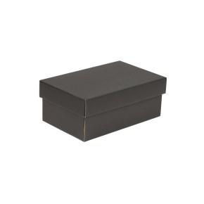 Darčeková krabička s vekom 250x150x100 mm, čierna