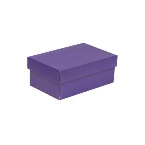 Darčeková krabička s vekom 250x150x100 mm, fialová