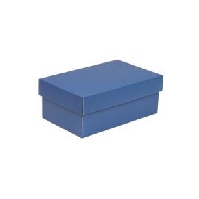 Darčeková krabička s vekom 250x150x100 mm, modrá