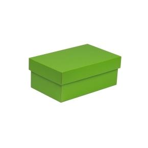 Darčeková krabička s vekom 250x150x100 mm, zelená