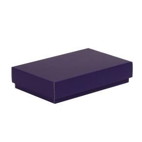 Darčeková krabička s vekom 250x150x50/40 mm, fialová