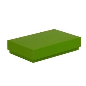 Darčeková krabička s vekom 250x150x50/40 mm, zelená