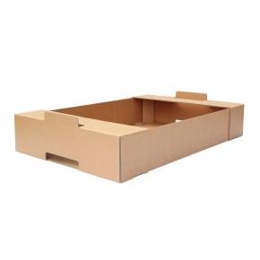Kartónová prepravka 600x400x100, krytie na kratších stranách, 3VVL