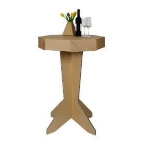 Kartónový barový stôl č. 2, 715x715x1070 mm