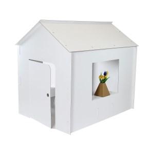 Kartónový domček z 5VVL, 1300x1000x1230 mm, bez potlače