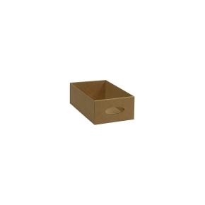 Kartónový šuplík malý, hnedý 115x196x65 mm