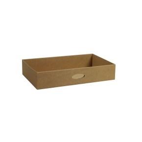 Kartónový šuplík velký, hnedý