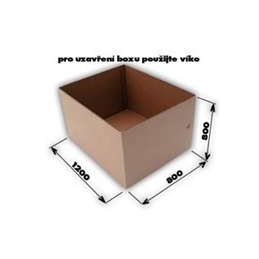Krabica 5VVL 0200 1186x786x786 EUROBOX bez horných klop