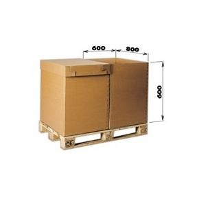 Krabica 5VVL 0200 785x580x586 bez horných klop