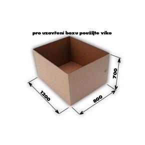 Krabica 7VVL 0200 1170x770x670 EUROBOX bez horných klop