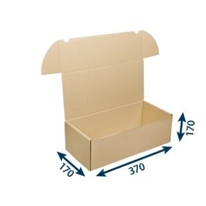 Krabica poštová 370x170x170 3VVL FEFCO 0427