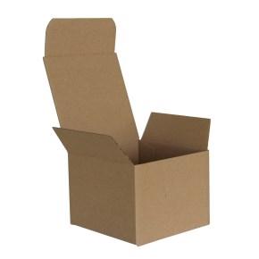 Krabica vysekávaná 100x100x75, 3VVL, FEFCO 0215