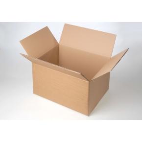 Krabica z päťvrstvového kartónu 1050x520x450, klopová, kraft
