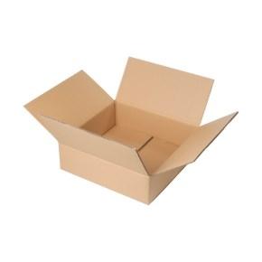 Krabica z päťvrstvového kartónu 385x385x125, klopová (0201)