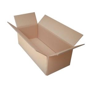 Krabica z päťvrstvového kartónu 575x245x190, klopová (0201)