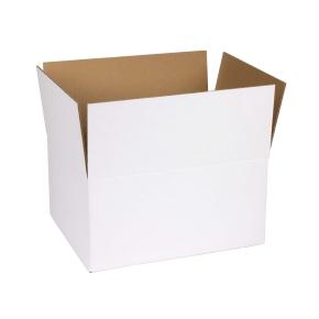 Krabica z třívrstvého kartonu, 298x243x145 mm, samosvorné dno, A4 formát