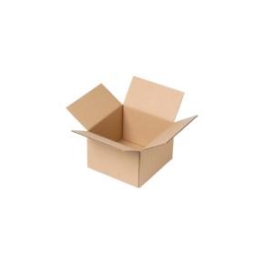 Krabica z trojvrstvového kartónu 150x150x100, klopová (0201)