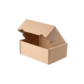 Krabica z trojvrstvového kartónu, 165x115x70 mm, mini krabička, hnedá