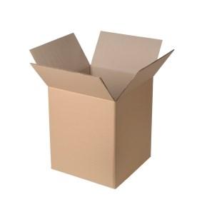 Krabica z trojvrstvového kartónu 194x194x188, klopová (0201)