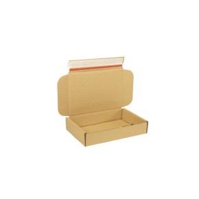 Krabica z trojvrstvového kartónu 220x150x42 mm pre tlačoviny A5, lepiaca páska