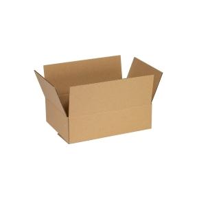 Krabica z trojvrstvového kartónu 220x160x60 mm, klopová (0201)