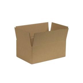 Krabica z trojvrstvového kartónu 286x186x113 mm, klopová