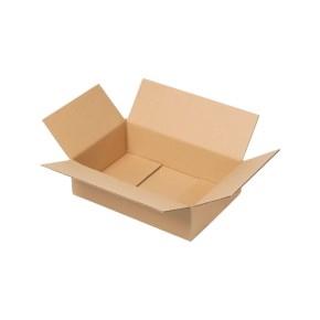Krabica z trojvrstvového kartónu 294x194x78, klopová (0201) kraft