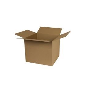 Krabica z trojvrstvového kartónu 300x270x262, klopová (0201)