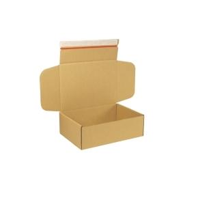 Krabica z trojvrstvového kartónu 305x215x100 mm pre tlačoviny A4, lepiaca páska